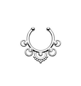 Fake Septum Piercing Schmuck