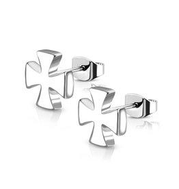 Eisernes Kreuz Ohrring