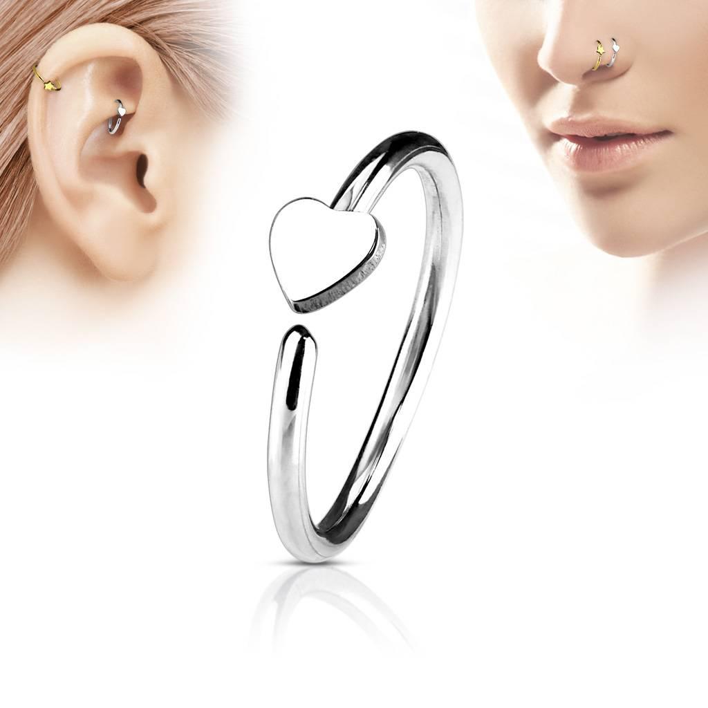 Nasenpiercing Ring zum aufbiegen
