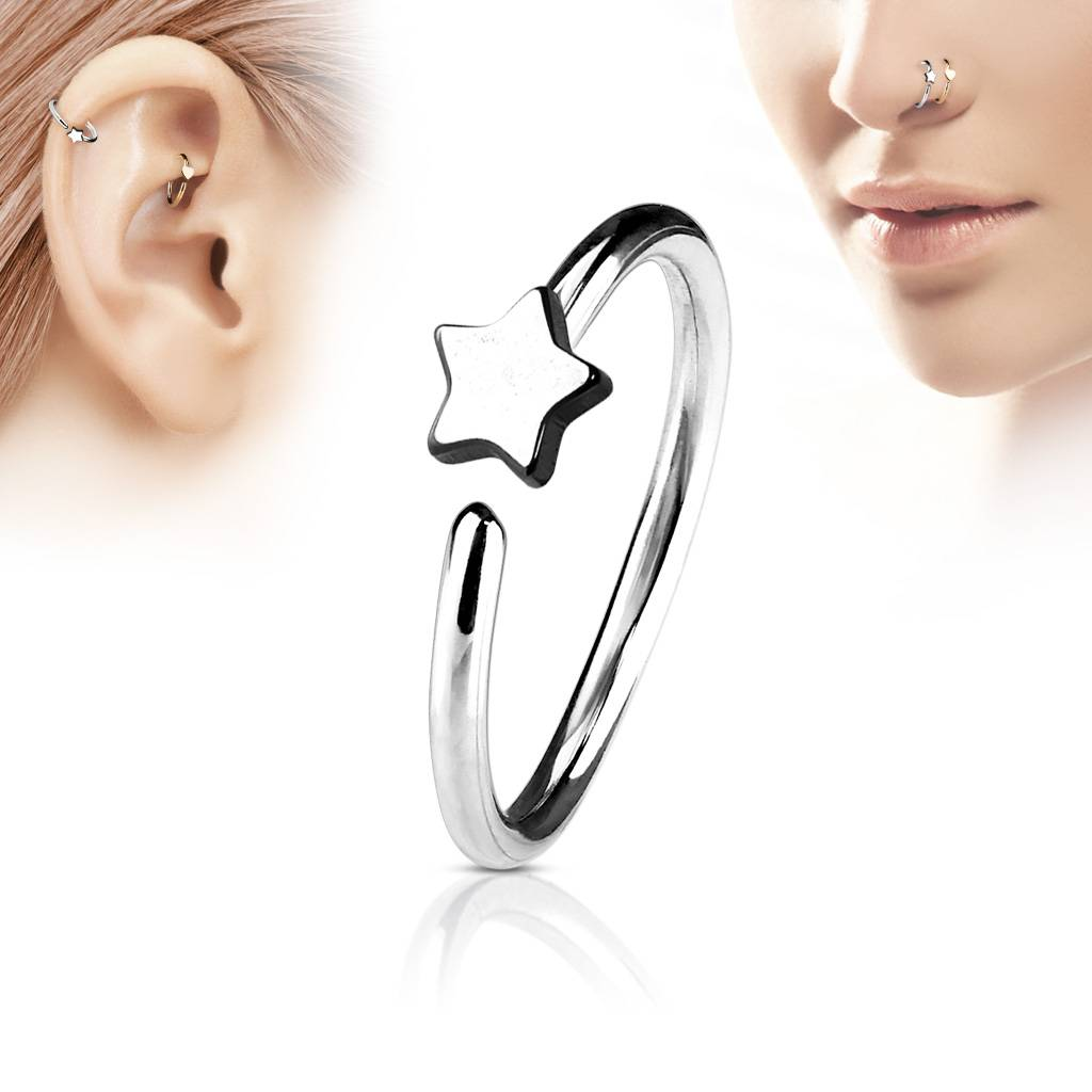 Piercing Ring Nase - Continuous Ring - 3 Farben