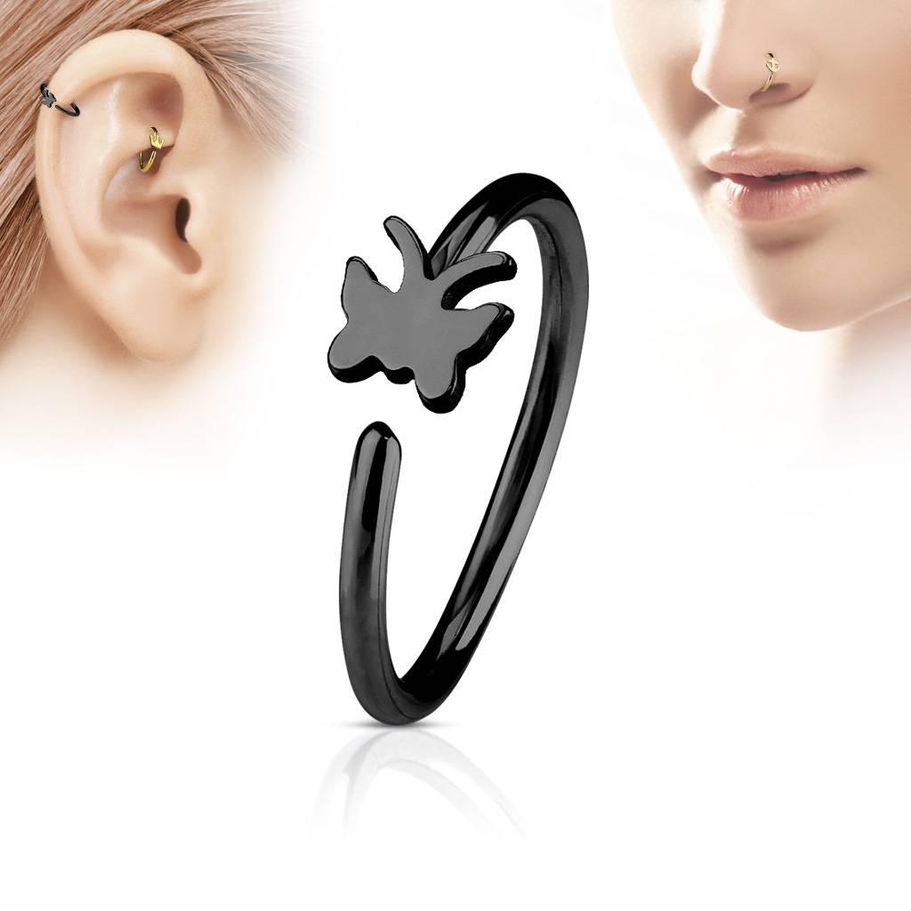 Piercing Ring Nase zum aufbiegen