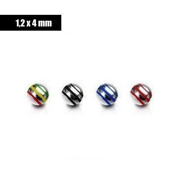 Piercing Kugeln 1,2 mm Gewinde