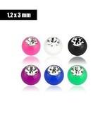 Kunststoffkugel 1,2 mm - 5 Farben