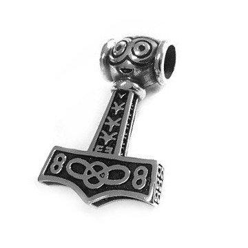 Thor Hammer Anhänger aus Edelstahl