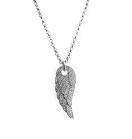 Damen Halskette mit Engelsflügel