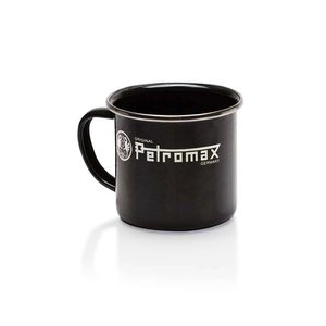 Petromax Emaille Mok - zwart