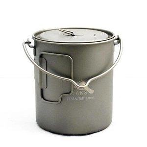 Toaks Titanium 750ml Pan - Met Hengsel