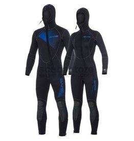 Bare Bare 7mm Sport Hooded Full Suit Kids