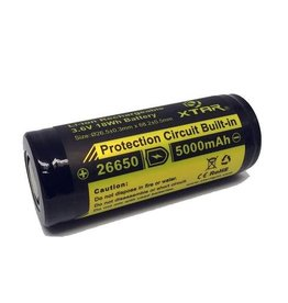 Xtar Li-ion Rechargeable 3,7 Volt 26650 battery