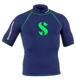 Scubapro Scubapro Blue Planet Rash Guard korte Mouw Heren