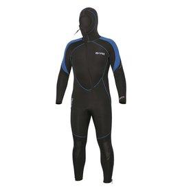 Bare Bare 7mm Sport S-Flex Hooded Full Blue Men
