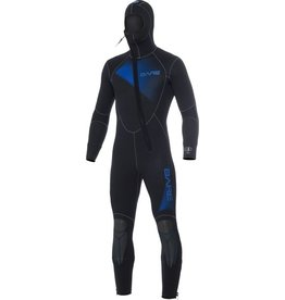 Bare Bare 7mm Sport Hooded Full Blue Men