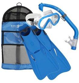 AquaLung Santa Cruz Scuba set Kids Blue