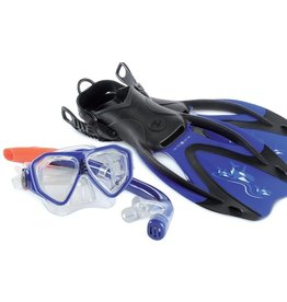 AquaLung Snorkelsets Rando Set Junior Blue XS/S (32-35)