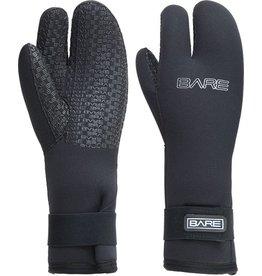 Bare Bare 7mm Three Finger Mitt Handschoen