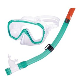Aquatics Aquatics Combo Dolphino Junior Green Mask+Snorkel