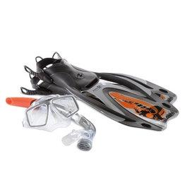AquaLung Aqua Lung Rando SnorkelSet Men Silver M