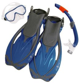 AquaLung Aqua Lung Yucatan Pro Set Blue