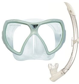 AquaLung Aqua Lung Visionflex LX + Airflex Purge LX Arctic White