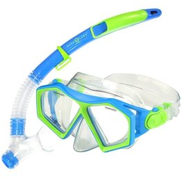 AquaLung Aqua Lung Molokai + Spout Blue / Green KIDS