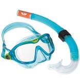 AquaLung Aqua Lung Reef DX 2 Clear Lens + Snorkel Aqua KIDS