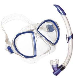 AquaLung Aqua Lung Duetto Midi LX + Airflex Purge Midi LX Blue