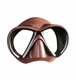 Mares Mares X-VU Liquidskin masker Bruin