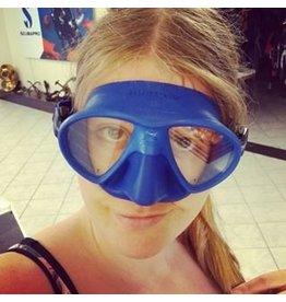Mares Mares X Free dive Masker Jeanine Grasmeijer Blauw