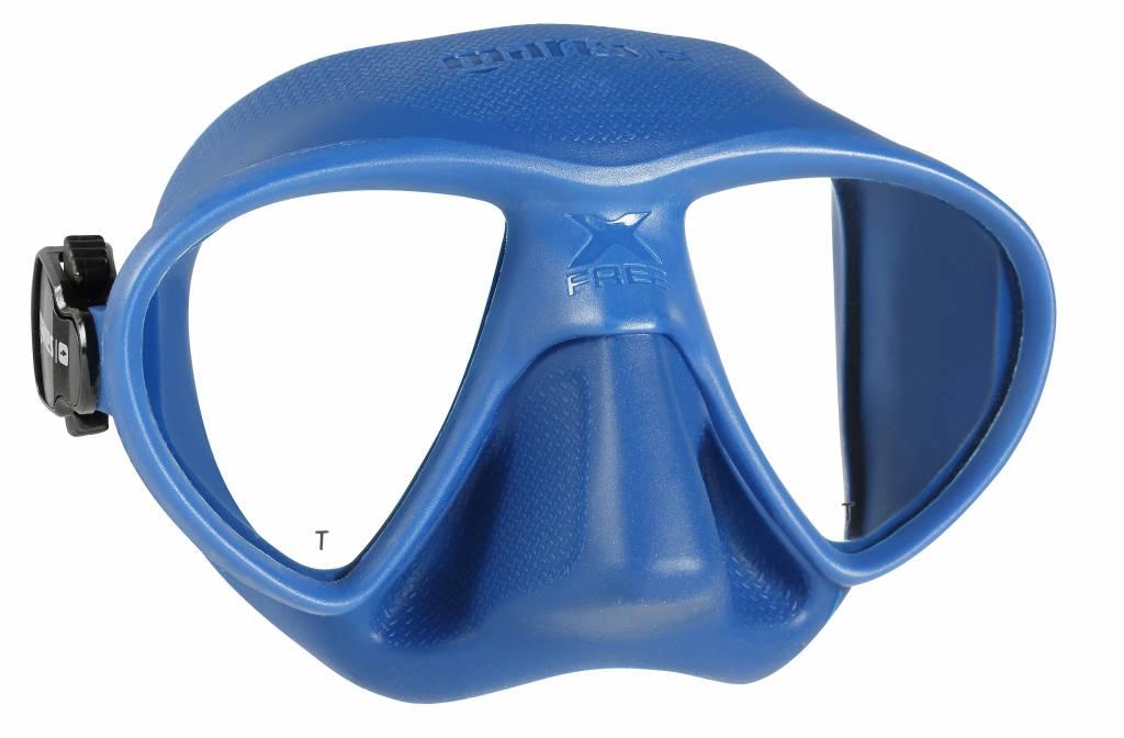 Mares Mares X Free dive Masker Jeanine Grasmeijer Blue