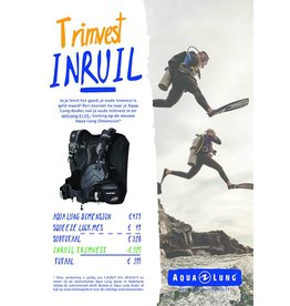 AquaLung Aqua Lung Dimension TRIMVEST INRUIL ACTIE!