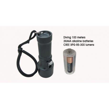 DiveNology DiveNology DN 8100 Duik / Backup lamp
