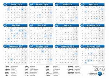 Events Kalender 2018
