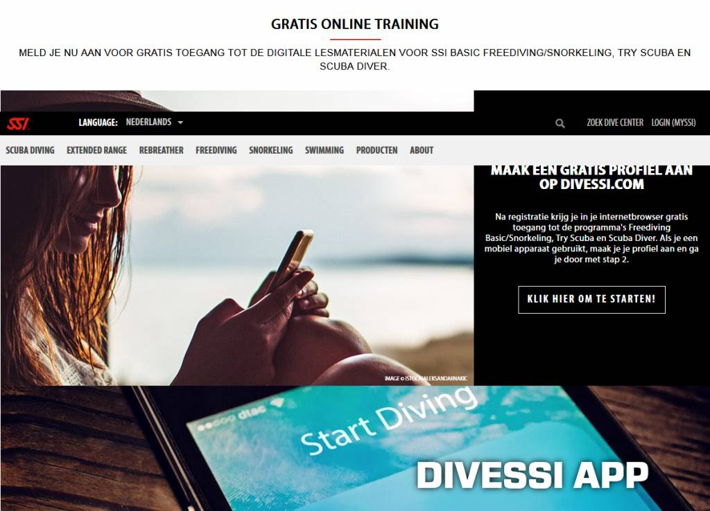 SSI Gratis online training ESKO Diveworld