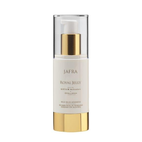 Jafra ROYAL JELLY Milk Balm  | Feuchtigkeitsbalsam Advanced | Spenderflasche | 30 ml