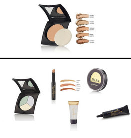 BASIS SET mit Two-in-one Puder Make Up