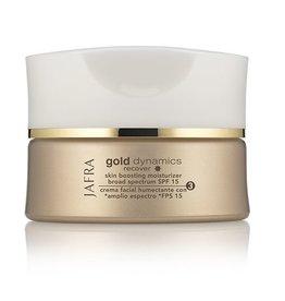 Jafra Gold Boosting Feuchtigkeitspflege SPF 15 | Glastiegel | 50 ml