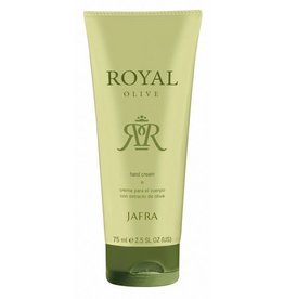 Jafra Royal Olive Handcreme | Tube | 75 ml