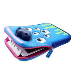 "TabZoo Monster blauw tablethoes (7/8"")"