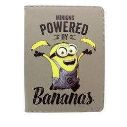 "Minions Powered by Bananas tablet case (7/8"")"
