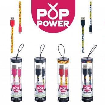 Pop Power - Kissing Lips oplaadkabel