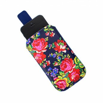 Accessorize Navy Rose telefoonhoes