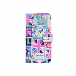 Accessorize Love London book case (iPhone 5/5S/5SE)