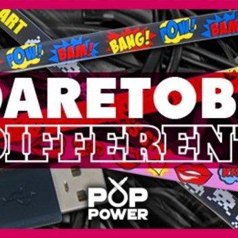 Pop Power - Pow Bang oplaadkabel
