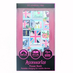 Accessorize Love London powerbank