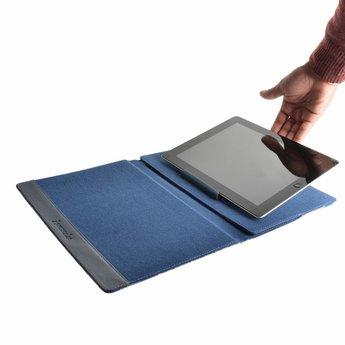 "Accessorize Navy Rose tablet case (7/8"")"