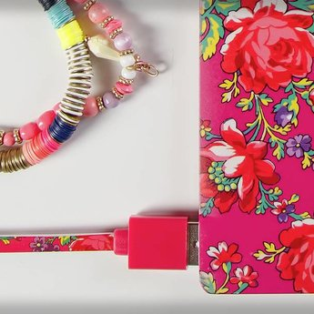 Accessorize Rose Pink powerbank