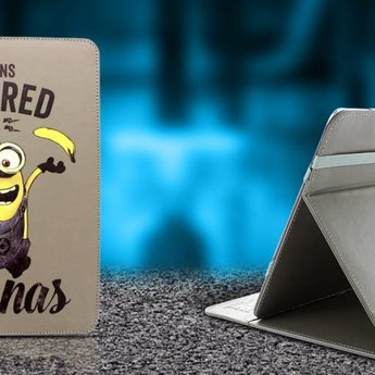 """Minions Powered by Bananas tablet case (7/8"""")"""