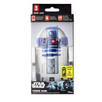 Disney Star Wars R2-D2 powerbank (2.600mAh)