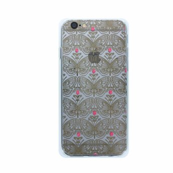 Accessorize Accessorize Gold Butterfly clear case (iPhone 6/7)