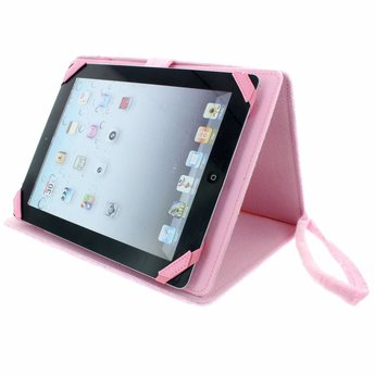 "TabZoo TabZoo Konijntje - tablet case met bewegende oogjes (10/11"")"